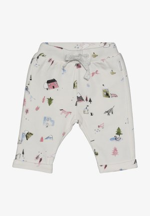 PANTS REGULAR COVENDALE BABY - Pantalones - whisper white melange