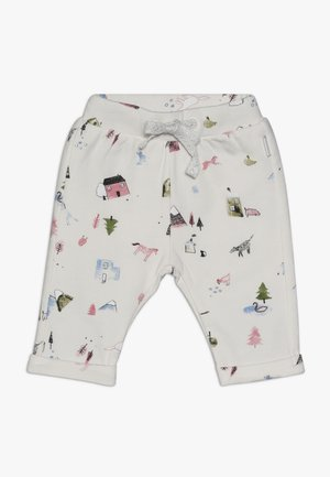 PANTS REGULAR COVENDALE BABY - Kalhoty - whisper white melange