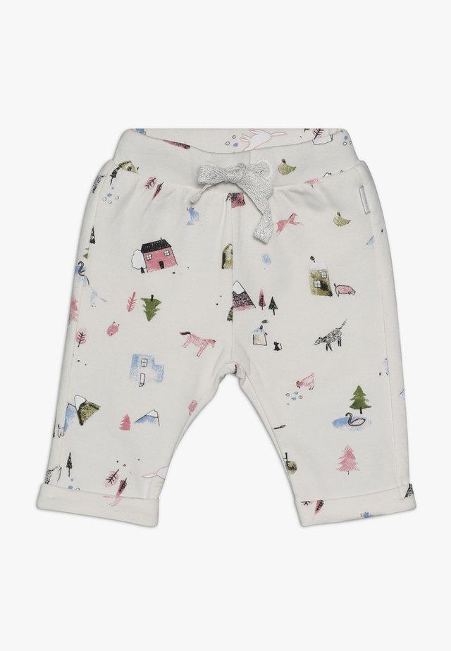 PANTS REGULAR COVENDALE BABY - Trousers - whisper white melange