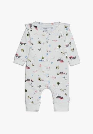 PLAYSUIT CARLSBLAD BABY - Babygrow - whisper white melange