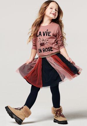 A-line skirt - ancient pink