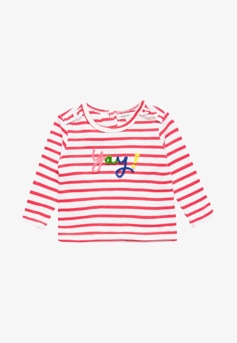 Noppies - BOXY FIT ROSAMOND BABY - Strickpullover - bright red