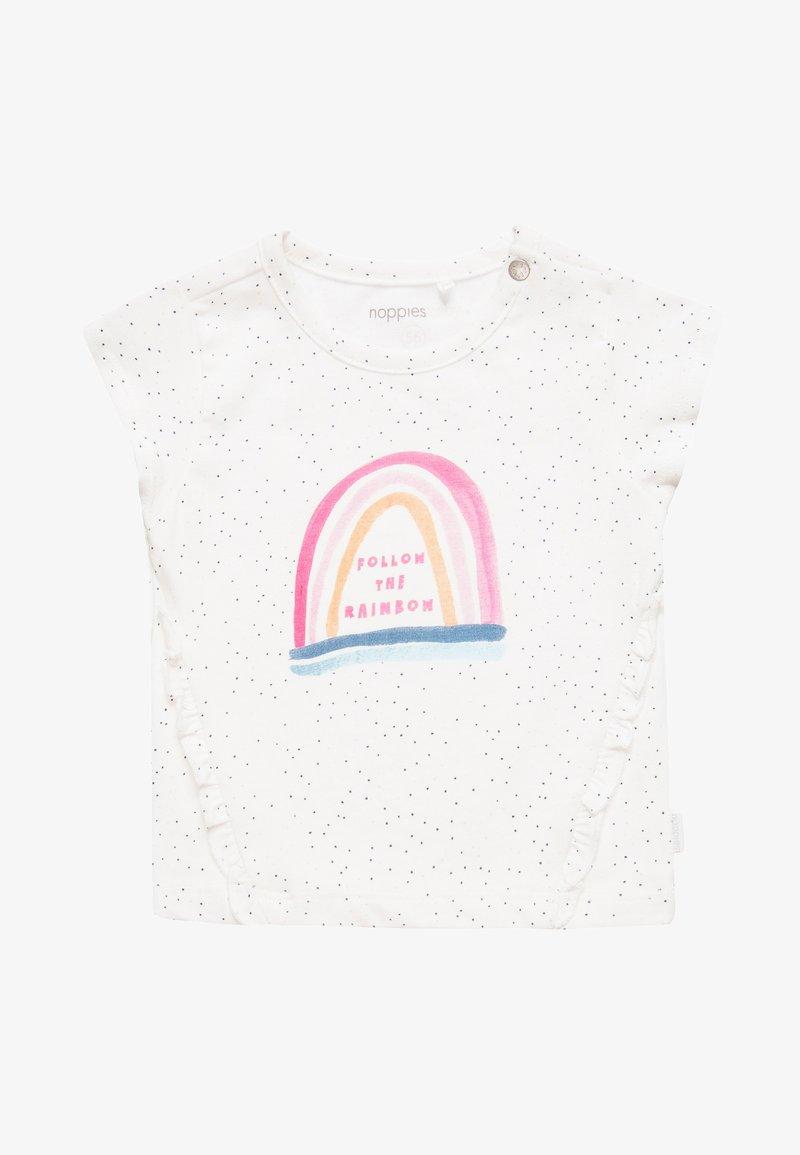 Noppies - TEE SLIM FIT ROCKAWAY BABY - T-Shirt print - blanc de blanc