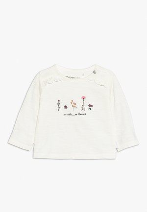 TEE REGULAR CELINA BABY - Camiseta de manga larga - whisper white