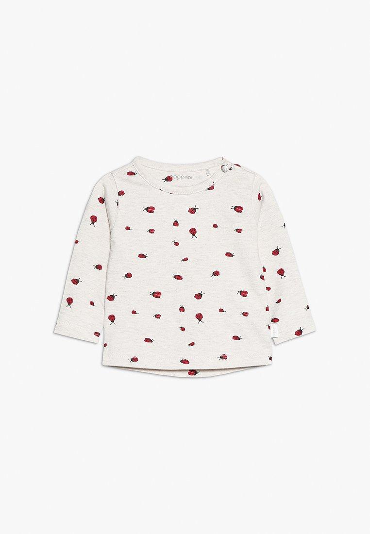 Noppies - TEE SLIM CARY BABY - Long sleeved top - whisper white melange