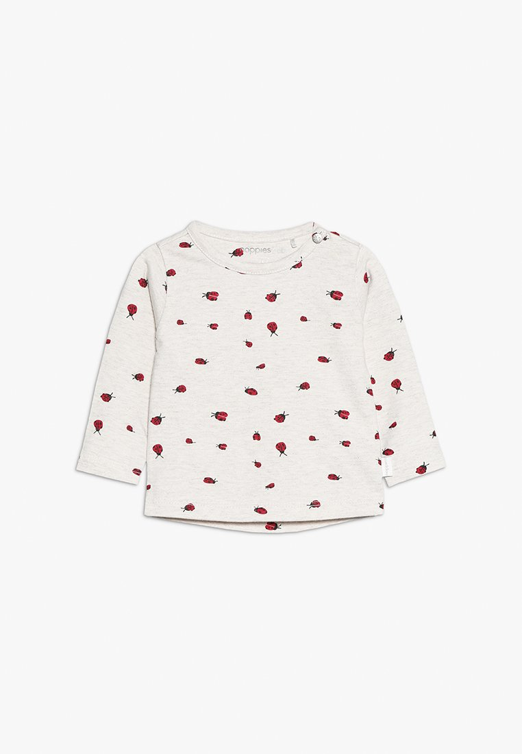 Noppies - TEE SLIM CARY BABY - Långärmad tröja - whisper white melange