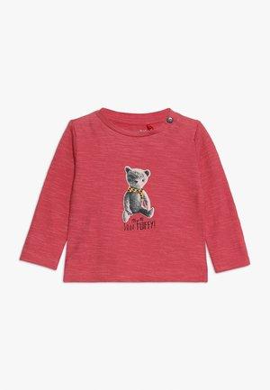 TEE REGULAR CHEVIOT BABY - Langarmshirt - garnet rose