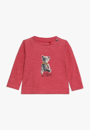 TEE REGULAR CHEVIOT BABY - Maglietta a manica lunga - garnet rose