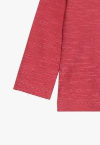 Noppies - TEE REGULAR CHEVIOT BABY - Long sleeved top - garnet rose - 2