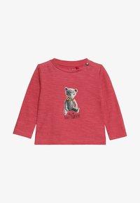 Noppies - TEE REGULAR CHEVIOT BABY - Long sleeved top - garnet rose - 3