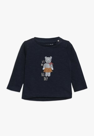 TEE REGULAR CHEVIOT BABY - Camiseta de manga larga - dark sapphire