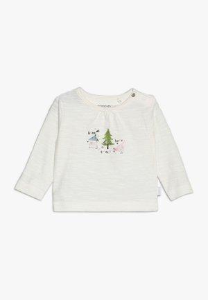 TEE SLIM COVINGTON BABY - Maglietta a manica lunga - whisper white