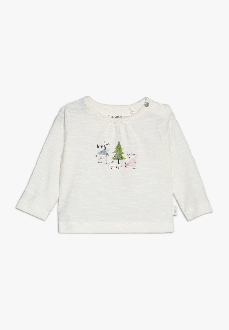 Noppies - TEE SLIM COVINGTON BABY - Langarmshirt - whisper white