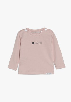 YVON TEKST - Long sleeved top - pink