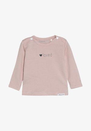 YVON TEKST - Long sleeved top - pink