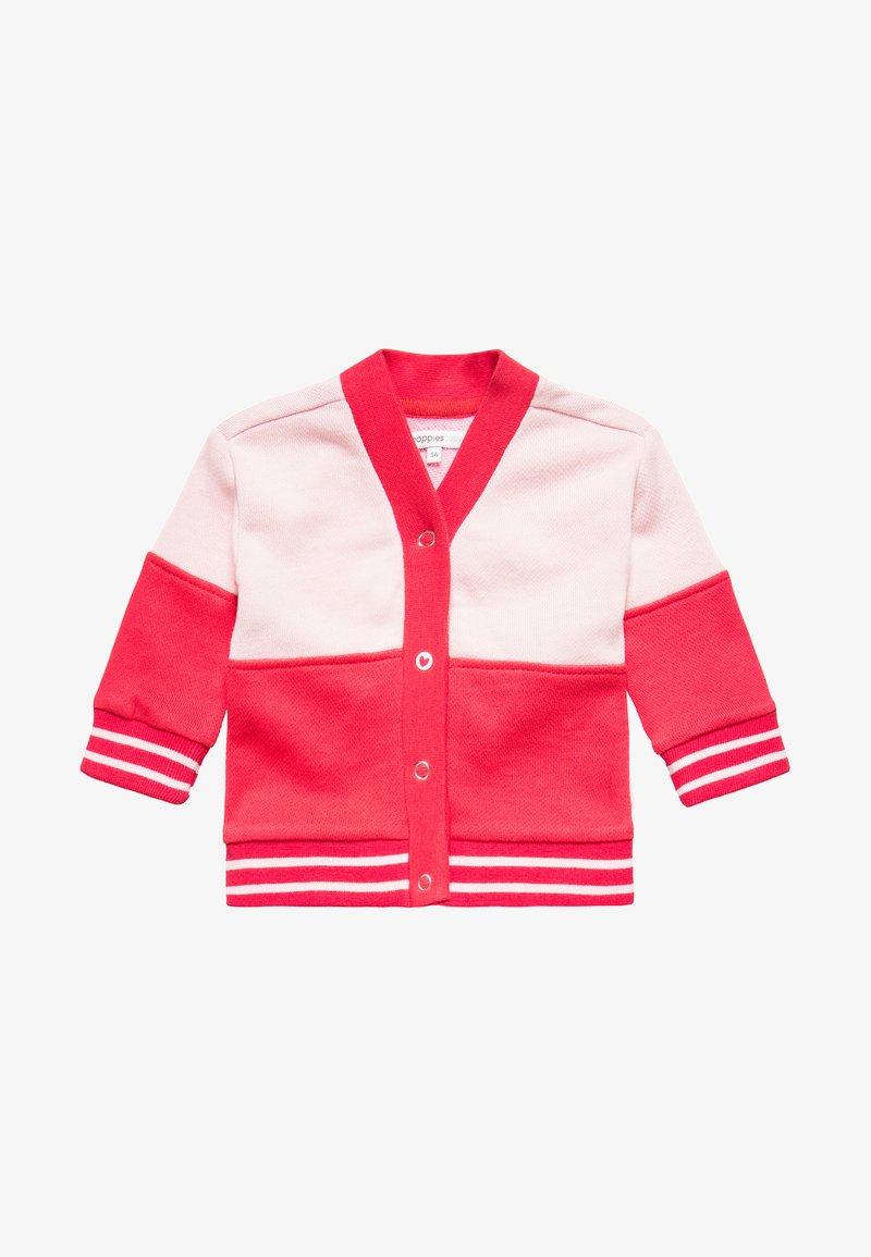 Noppies - CARDIGAN ROBBINS BABY - Sweatjacke - bright red