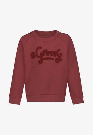 Sweater - garnet rose