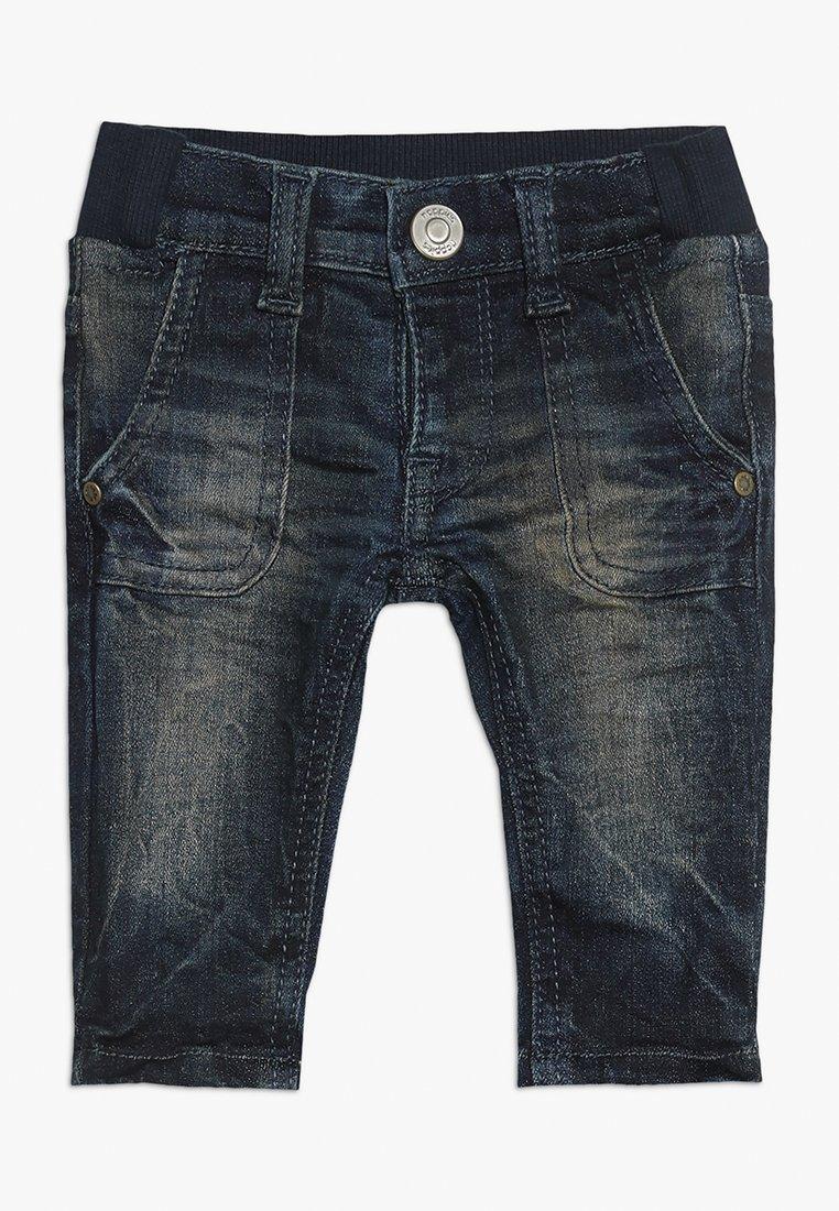 Noppies - PANTS REGULAR AMORY BABY - Skinny džíny - dark blue dirty