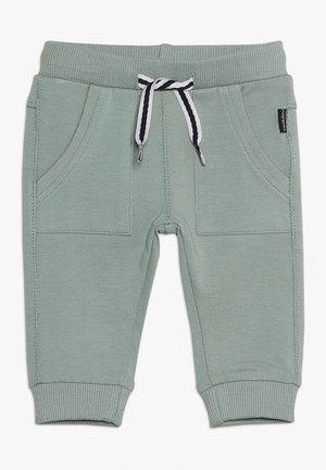 PANTS SLIM AMES BABY - Tygbyxor - green milieu