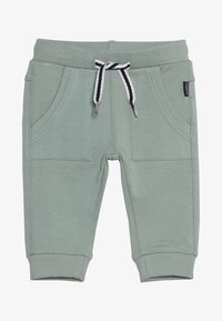 Noppies - PANTS SLIM AMES BABY - Trousers - green milieu - 3
