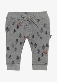 Noppies - PANTS REGULAR AMHERST BABY - Trousers - silver - 3