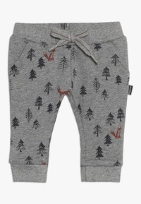 Noppies - PANTS REGULAR AMHERST BABY - Trousers - silver - 0