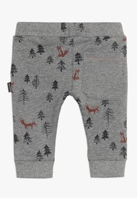 Noppies - PANTS REGULAR AMHERST BABY - Trousers - silver - 1