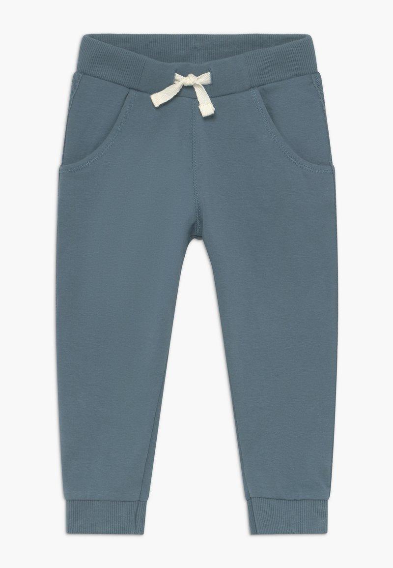 Noppies - PANTS REGULAR BURLEY BABY - Trousers - bluestone