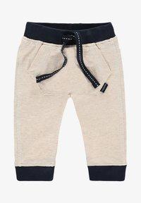 Noppies - SLIM FIT PANTS MATTHEWS - Trousers - whisper white melange - 0
