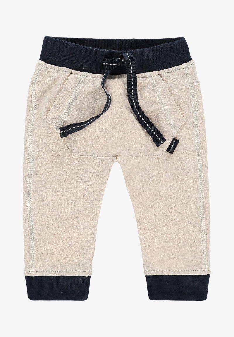 Noppies - SLIM FIT PANTS MATTHEWS - Trousers - whisper white melange
