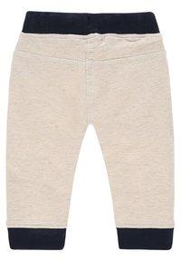 Noppies - SLIM FIT PANTS MATTHEWS - Trousers - whisper white melange - 1