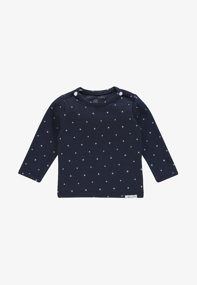 LANGARMSHIRT COLLIN - Langærmede T-shirts - navy