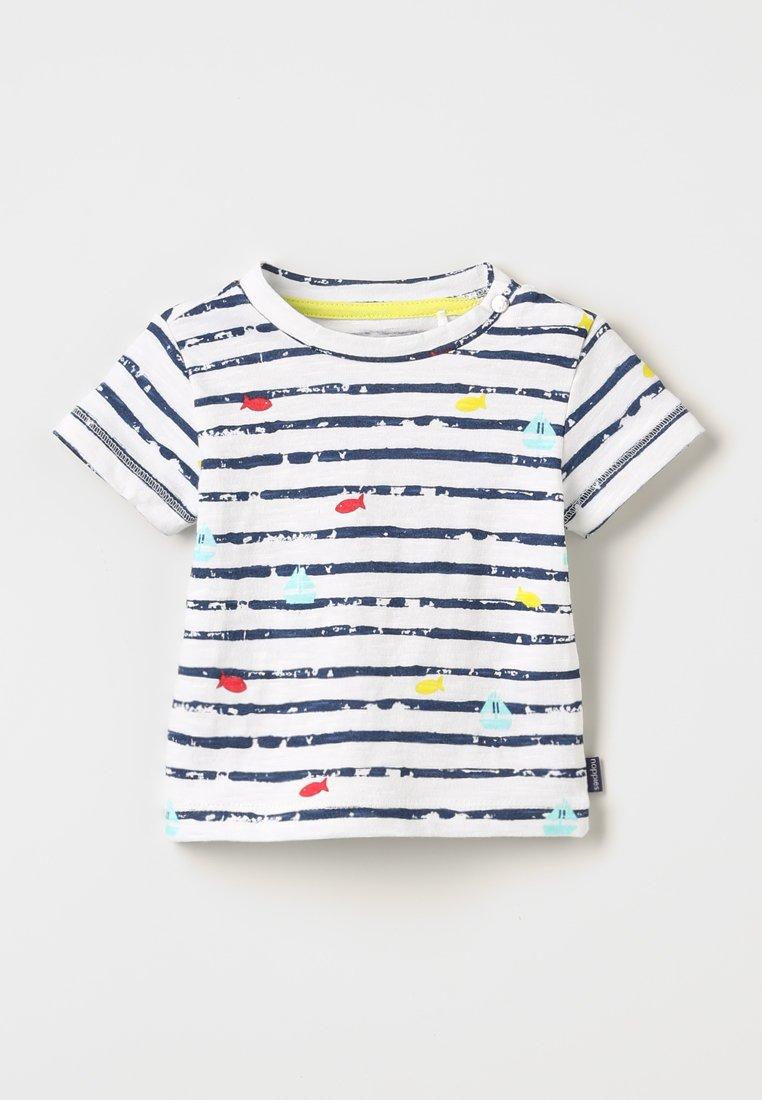 Noppies - TEE SLIM RICHARDSON BABY ZGREEN - T-Shirt print - patriot blue