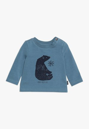 TEE REGULAR BURBANK BABY - Long sleeved top - bluestone
