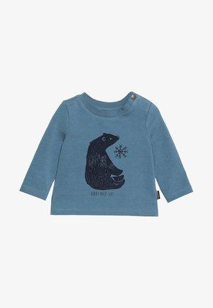 TEE REGULAR BURBANK BABY - Maglietta a manica lunga - bluestone