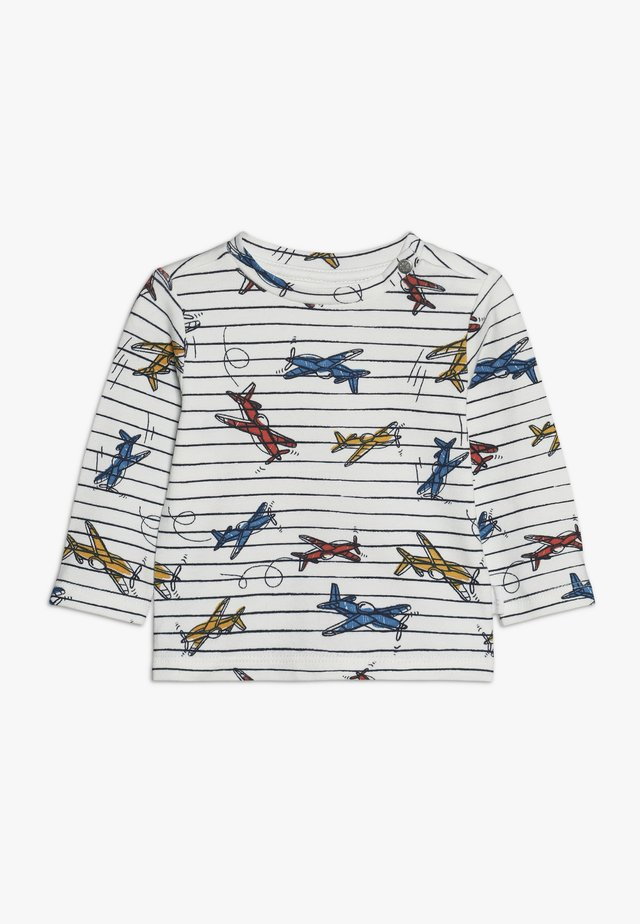 REGULAR BEACH  - Langærmede T-shirts - whisper white