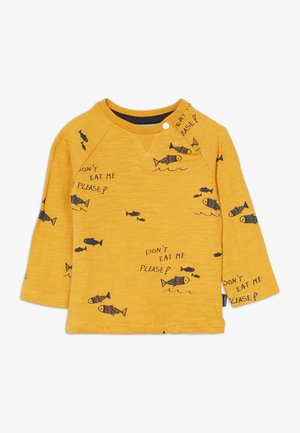 REGULAR MAULDIN - Long sleeved top - mineral yellow