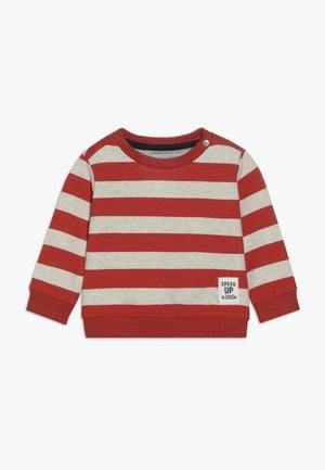 ARCHDALE STRIPE - Sweatshirt - metallic red
