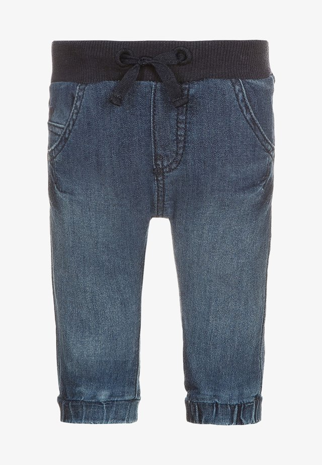 Relaxed fit jeans - stone wash