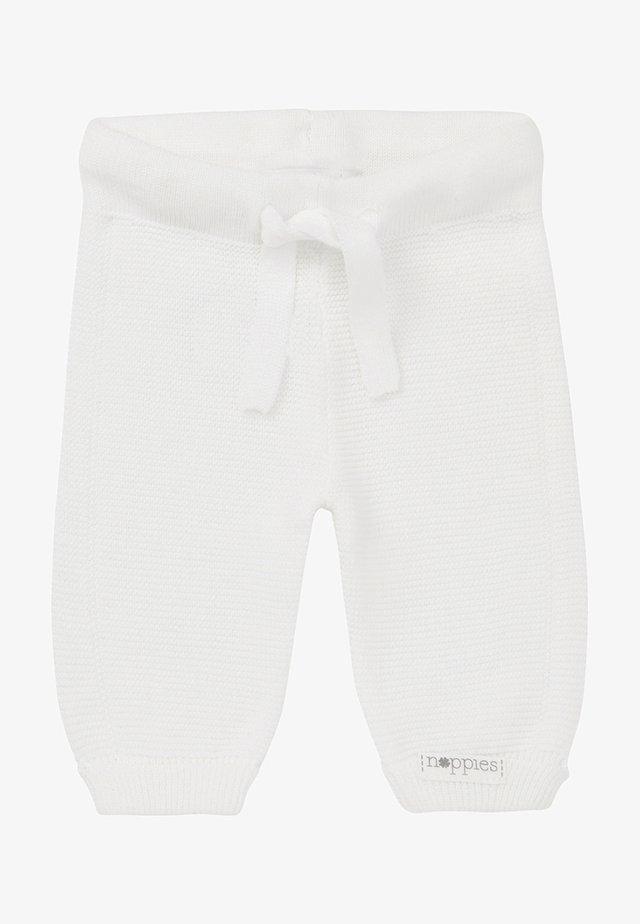 GROVER - Broek - white