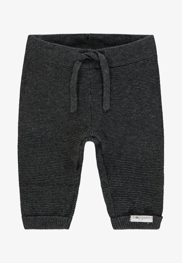LUX - Trousers - dark grey melange