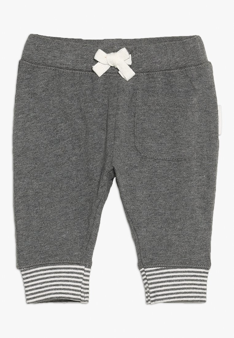 Noppies - PANTS RELAXED QOLORA BABY - Stoffhose - grey melange