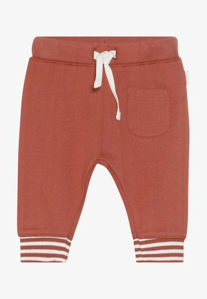 RELAXED FIT PANTS ANNEI - Kalhoty - spicy ginger