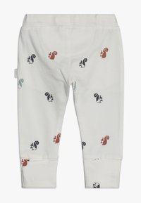 Noppies - SLIM FIT PANTS - Pantaloni - whisper white - 1