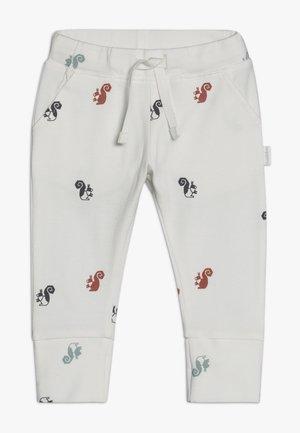 SLIM FIT PANTS - Pantalon classique - whisper white