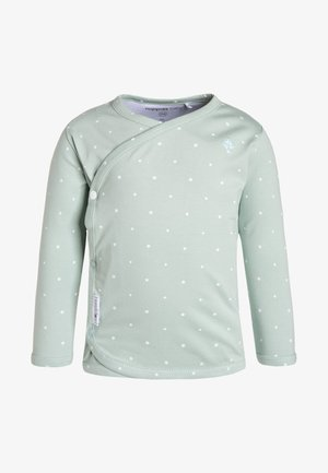 ANNE  - Long sleeved top - grey mint