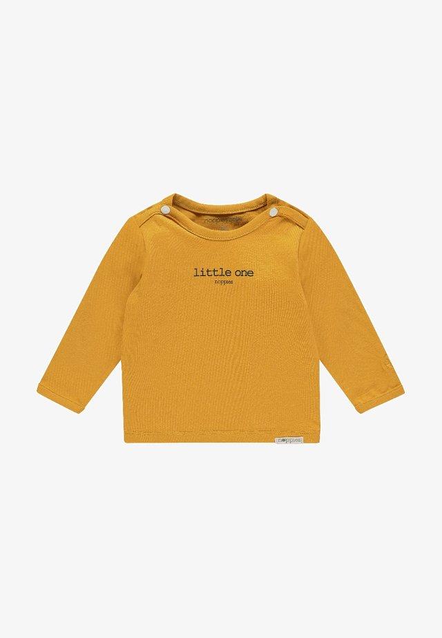 HESTER - Top sdlouhým rukávem - honey yellow