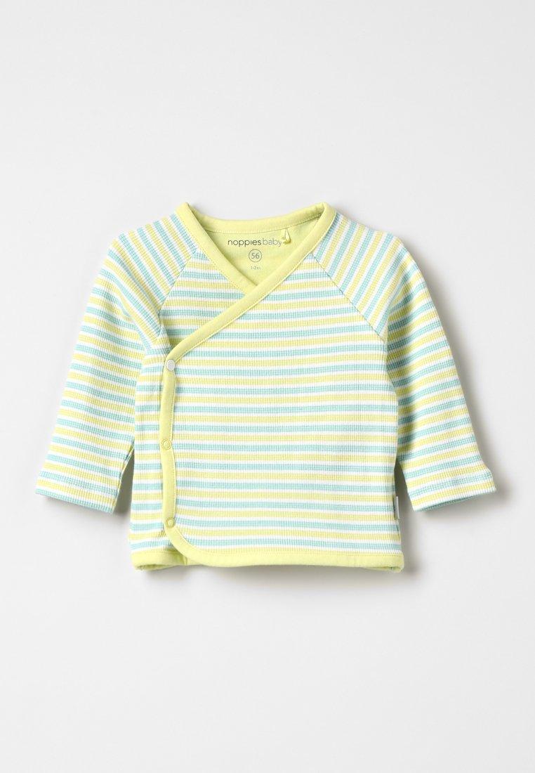 Noppies - OVERLAP PLUM BABY ZGREEN - Langarmshirt - canary yellow