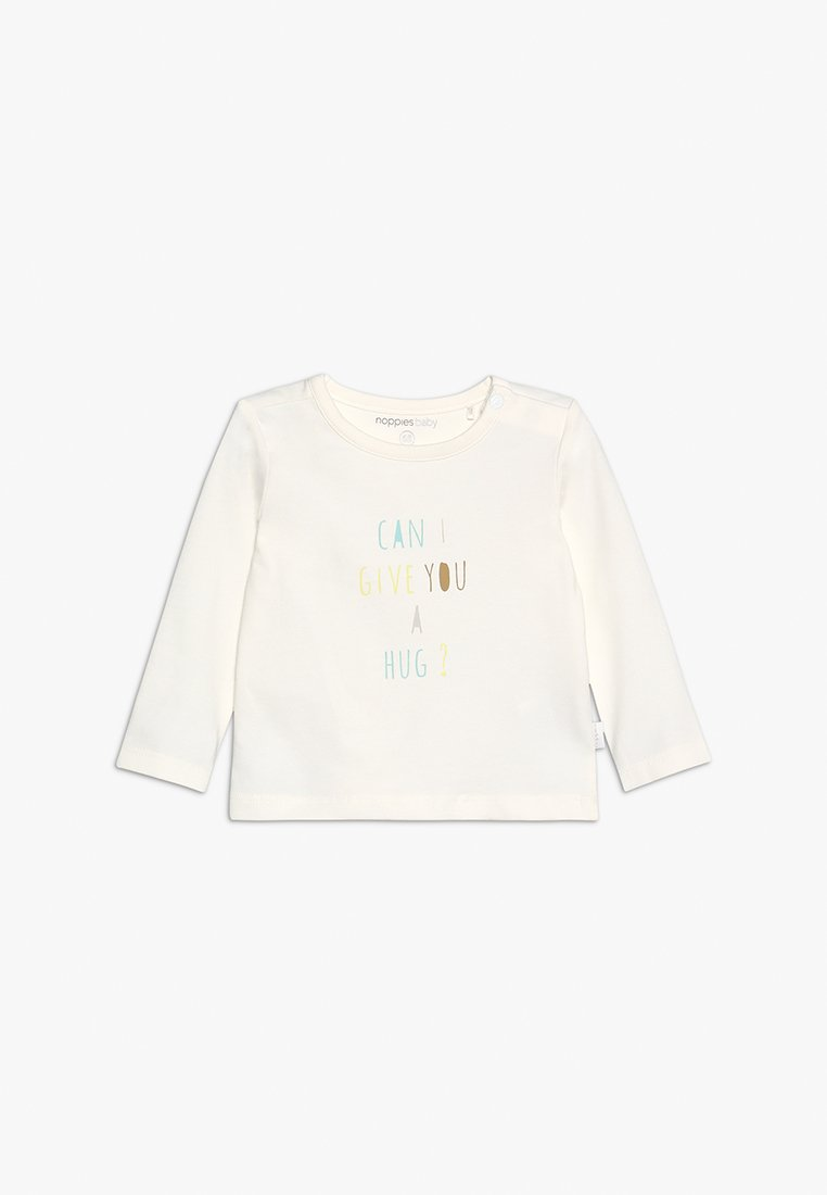 Noppies - TEE SLIM PARKER BABY - Long sleeved top - blanc de blanc