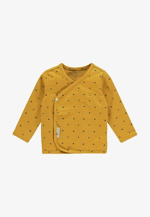 Langarmshirt - honey yellow